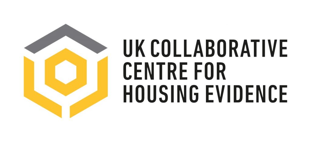 Logo for CaCHE, the UK Collaborative Centre for Housing Evidence