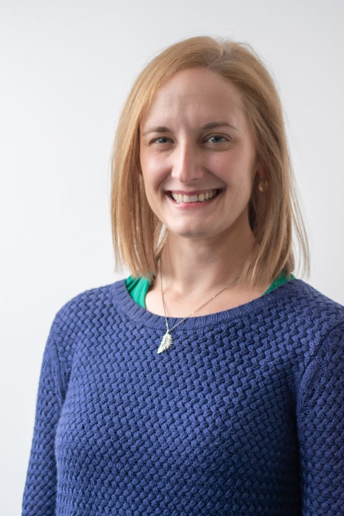 Head and shoulder photo of Sarah Weakley